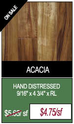 Hand Distressed Acacia Engineered Hardwood Flooring