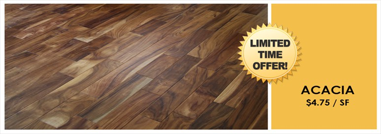 Acacia Hand Distressed Prefinished Engineered hardwood Flooring