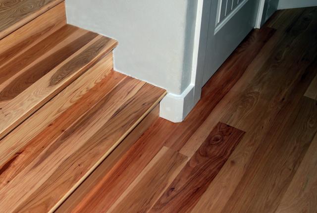 Hickory Stair Treads And Risers Esl Hardwood Floors Portfolio