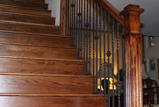 White Oak Stair Treads And Risers Esl Hardwood Floors Portfolio