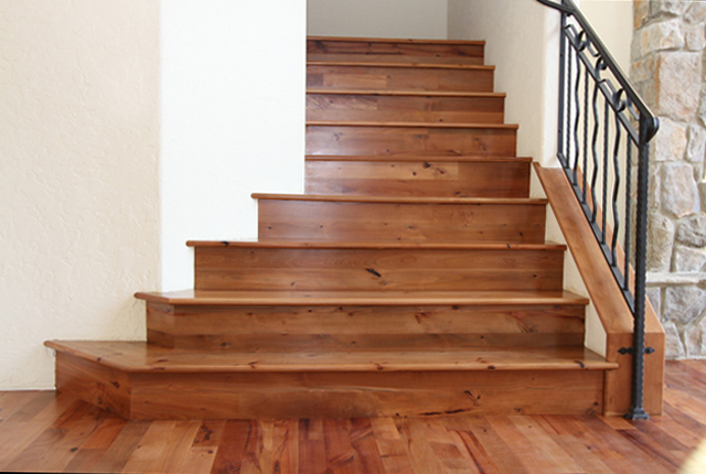 Superior MADRONE STAIR TREADS AND RISERS
