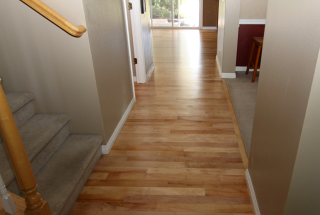 Refinishing Maple Floors : Refinishing Maple Floors : ESL Hardwood Floors Portfolio - Hardwood ...