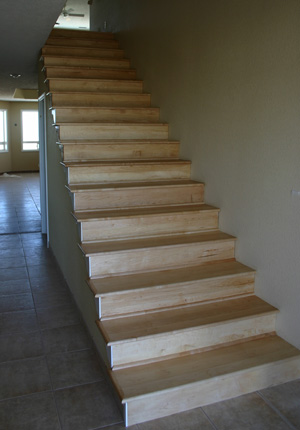 MAPLE STAIR TREADS AND RISERS