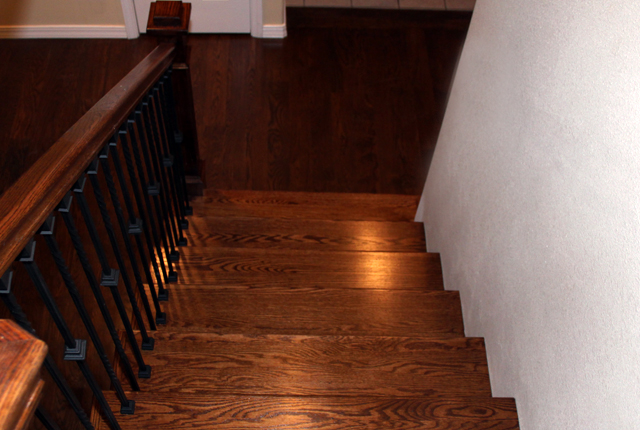 WHITE OAK STAIR TREADS AND RISERS