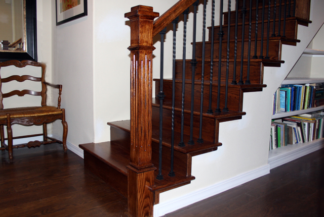 Delightful Affordable White Oak Stair Treads And Risers With Oak Stair Treads.