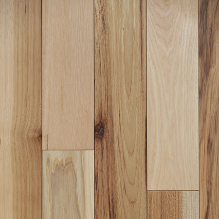 Hickory Solid Natural Prefinished Hardwood Flooring