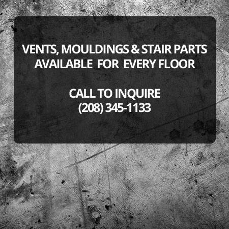 Vents, Mouldings & Stair Parts