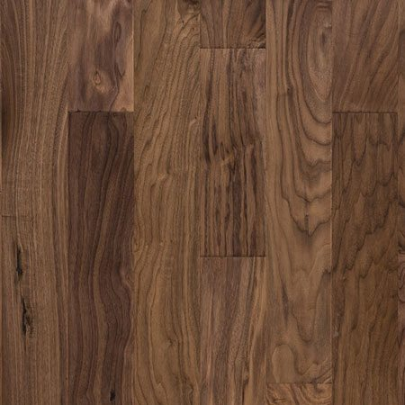 Black Walnut Prefinished Engineered Hardwood Flooring