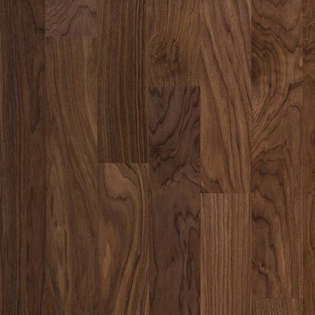 Prefinished Engineered Black Walnut Hardwood Flooring