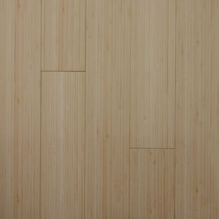Solid Bamboo Vertical Natural Flooring