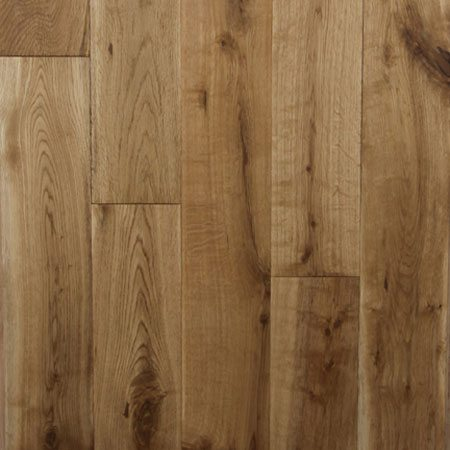 Solid Handscraped Collection White Oak Natural