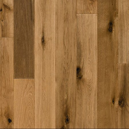 Smoked Oak Poly Finish Engineered Hardwood Flooring