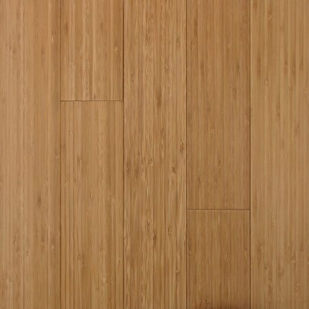 Solid Bamboo Vertical Carbonized Flooring